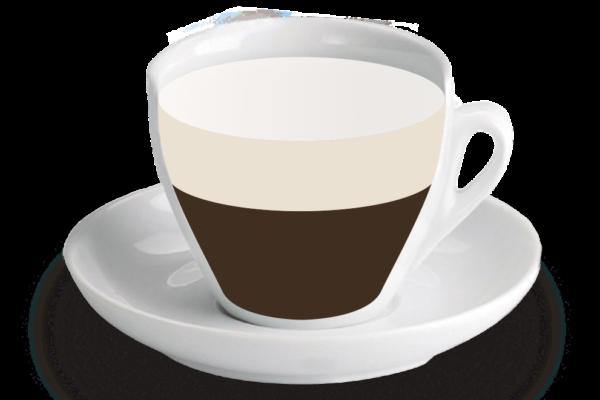 Cafè amb llet<br><small><em>Meitat cafè, meitat llet</em></small>