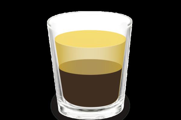 Carajillo, cigaló o cafè amb gotes<br><small><em>Cafè amb licor (brandi, whisky, rom, anís)</em></small>