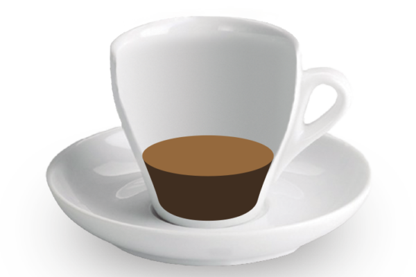 Ristretto<br><small><em>25 ml de cafè</em></small>