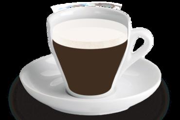 Macciatto<br><small><em>Cafè tacat amb llet emulsionada</em></small>