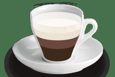 Mocca-Vienès<br><small><em>Cafè amb xocolata, llet i llet emulsionada</em></small>