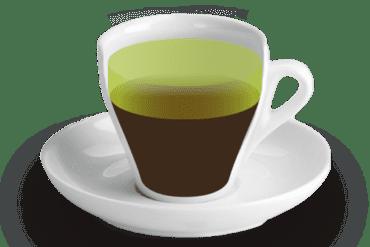 Rebentat<br><small><em>Cafè amb gotes de licor de canya, orujo o altres aiguardents. A Tarragona és típic amb Chartreuse verd</em></small>