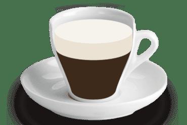 Tallat<br><small><em>35 ml de cafè amb poca llet (15 ml)</em></small>