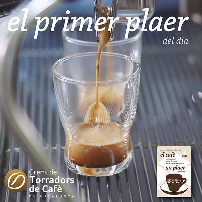 Bànner campanya El cafè, un plaer. El primer plaer del dia.