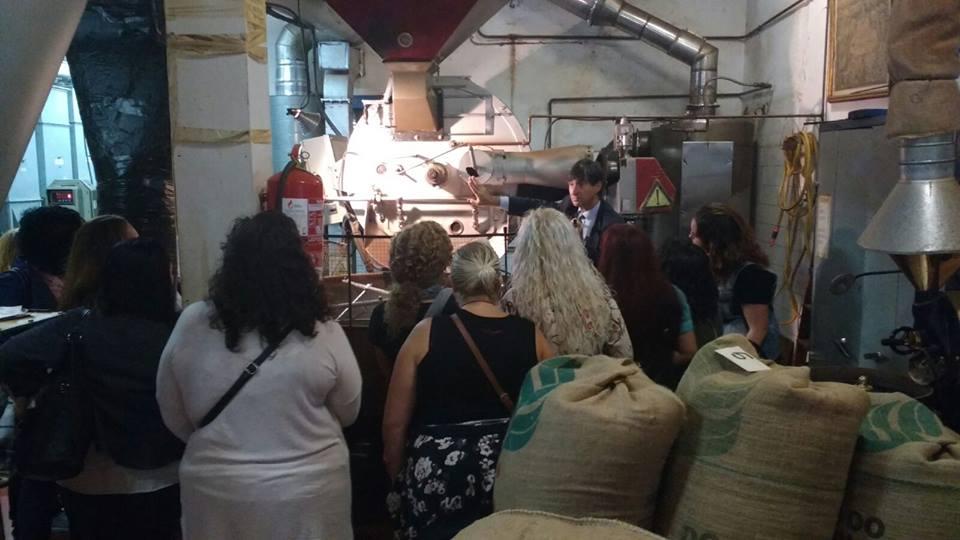 Fotografia CoffeeExperience a Bracafé, amb Xavier de Erausquin