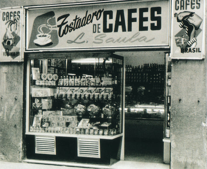 Botiga originària de Cafès Saula