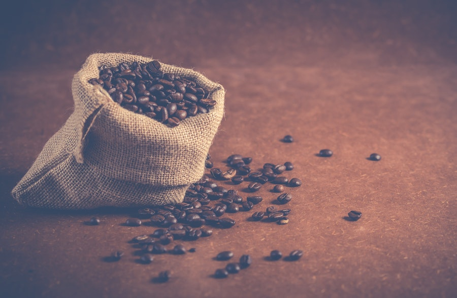 Sac de cafè vintage