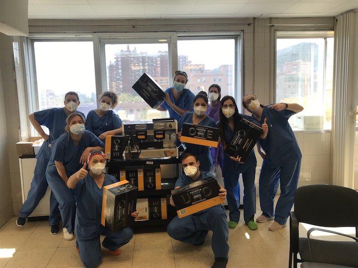 Cafe Saula dona capsules a hospitals i residències