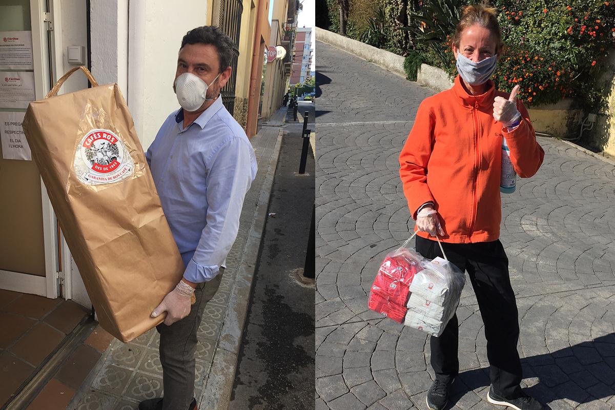 Donació Cafes Ros durant el Covid-19