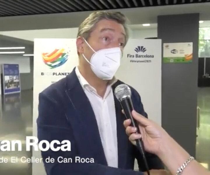 Joan Roca de restaurant El Celler de Can Roca, Girona
